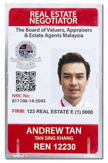 Real estate card