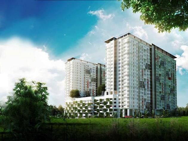 Projek rumah mampu-milik terbaru MK Land di Damansara Damai.