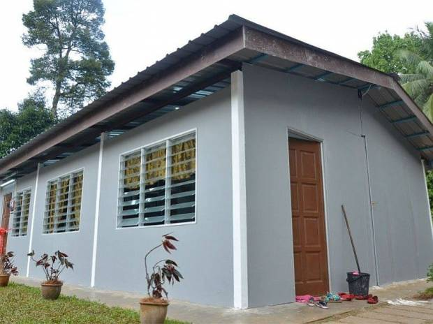 Rumah 600 kaki persegi semurah RM20,000, boleh siap tak sampai sebulan