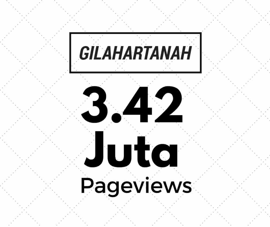 3.42 Juta Pageviews!