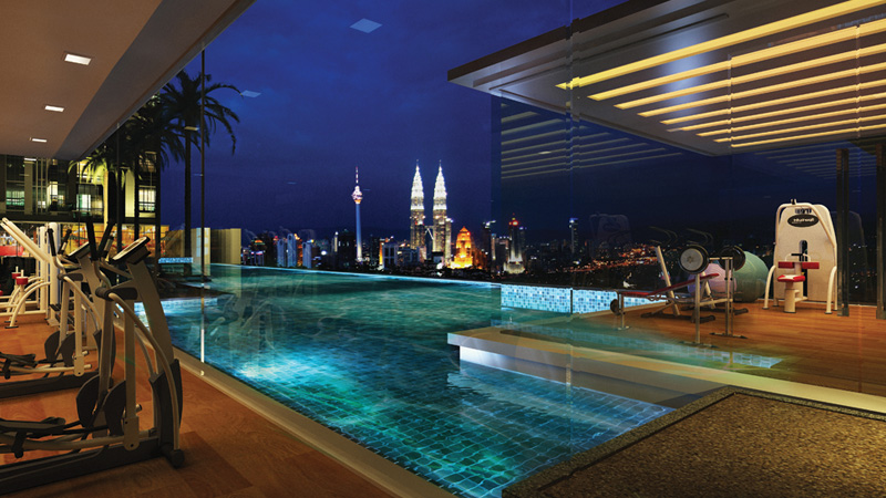 The Elements – Apartment mewah pinggiran Kuala Lumpur