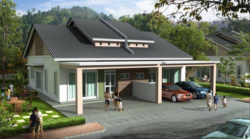 Aspirasi Metro Maya, kediaman selesa seisi keluarga di Pusing, Perak