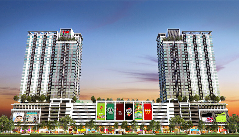 TCS Arcadia, Bandar Saujana Putra – Apartmen servis selesa buat seisi keluarga