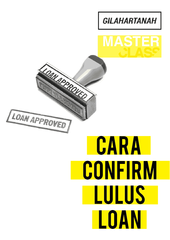 Cara Confirm Lulus Loan
