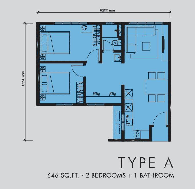 M Centura - Apartmen servis mampu-milik, hanya 5KM ke Pusat Bandaraya 4