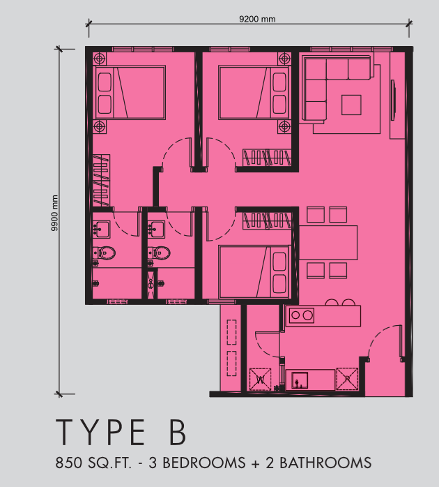 M Centura - Apartmen servis mampu-milik, hanya 5KM ke Pusat Bandaraya 5