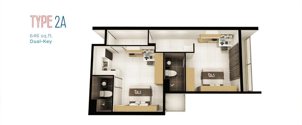 DK Impian - Kondominium 'dual-key,' lengkap dengan pelbagai kemudahan 7