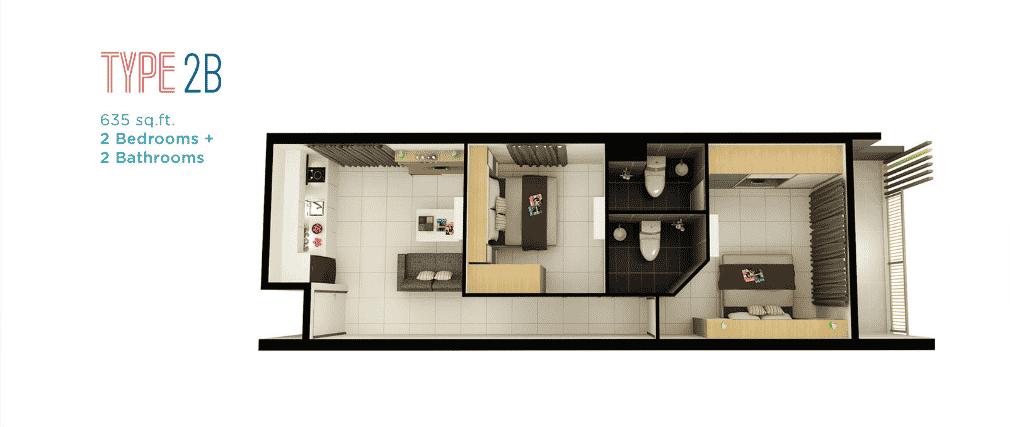 DK Impian - Kondominium 'dual-key,' lengkap dengan pelbagai kemudahan 8