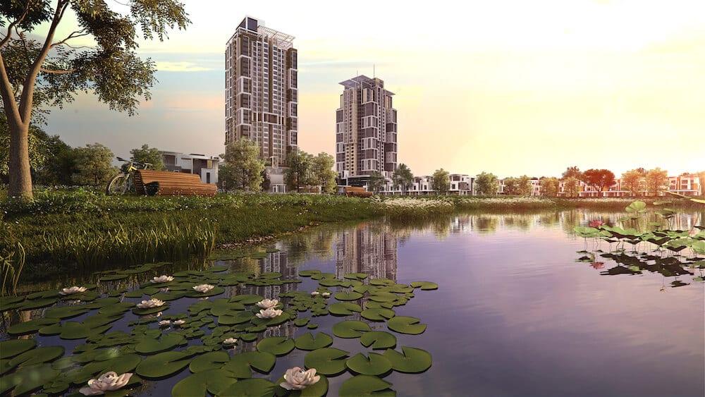 Lake Point Residence – Kondominium mewah berkepadatan rendah di Cyberjaya