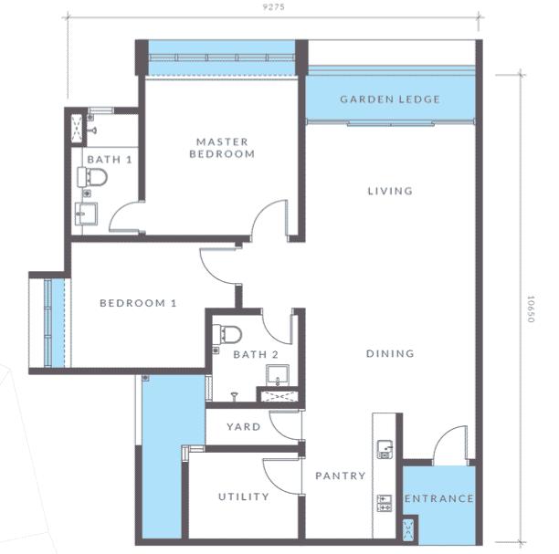 Aera Residence - Miliki apartmen servis ini pada hanya RM1,000 9