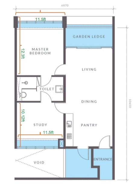 Aera Residence - Miliki apartmen servis ini pada hanya RM1,000 11